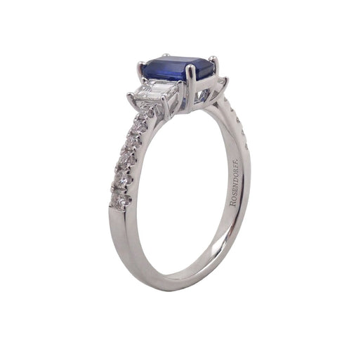Trilogy Collection Sapphire & Diamond Ring