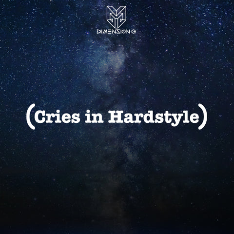 Cries in Hardstyle Decal