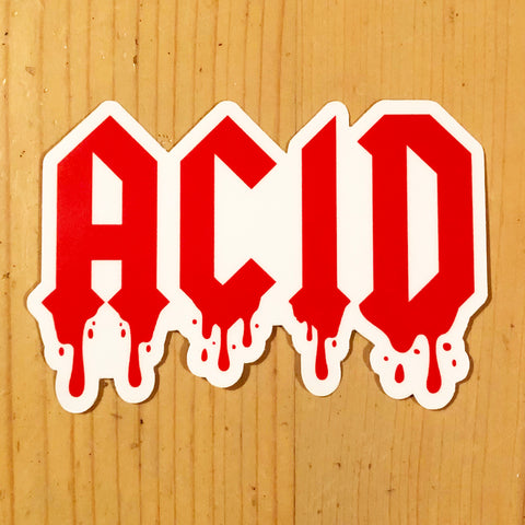 Acid Sticker