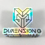 Dimension G Holographic Sticker