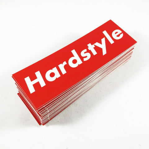 Hardstyle Sticker