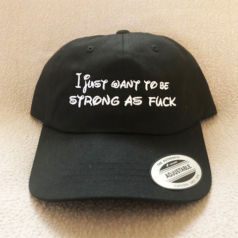 Strong as Fuck Dad Hat
