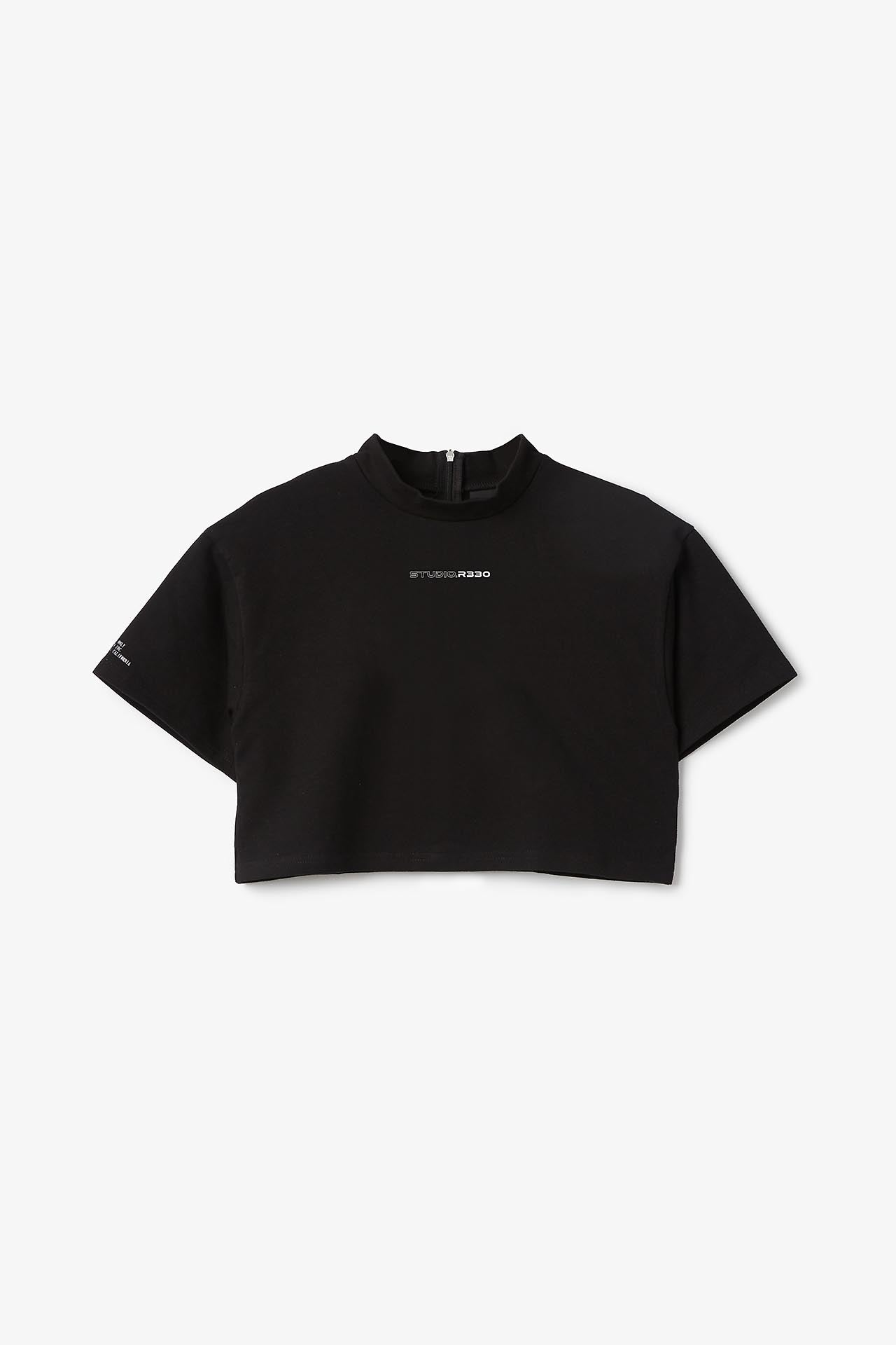 Women's Cropped Logo Tee