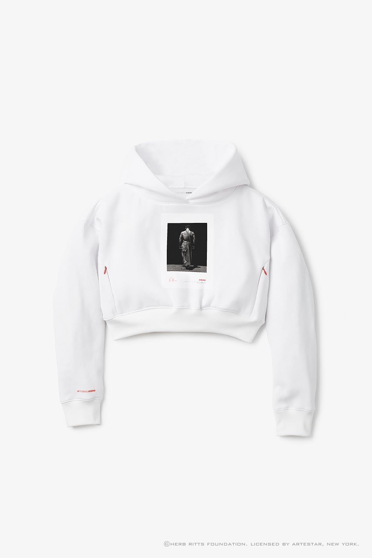 Women's Herb Ritts Cropped Hoodie