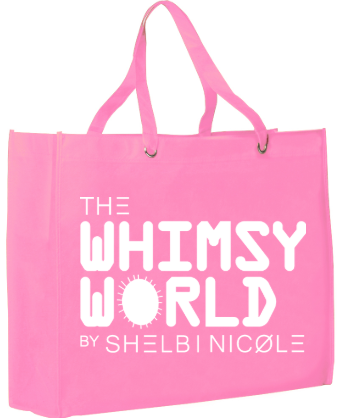 Whimsy World Tote Bag (White)