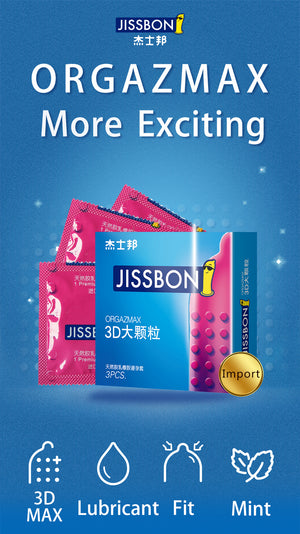 Jissbon Orgazmax condom give you more exciting