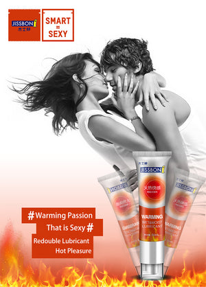 Warming sex lubricants