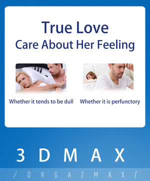 Jissbon Orgazmax is true love which care about her feeling