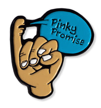 Load image into Gallery viewer, Pinky Promise Enamel Pin