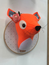 Load image into Gallery viewer, Felt Taxidermy Fox