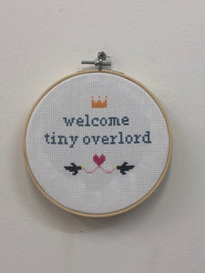 'Welcome' Cross Stitch