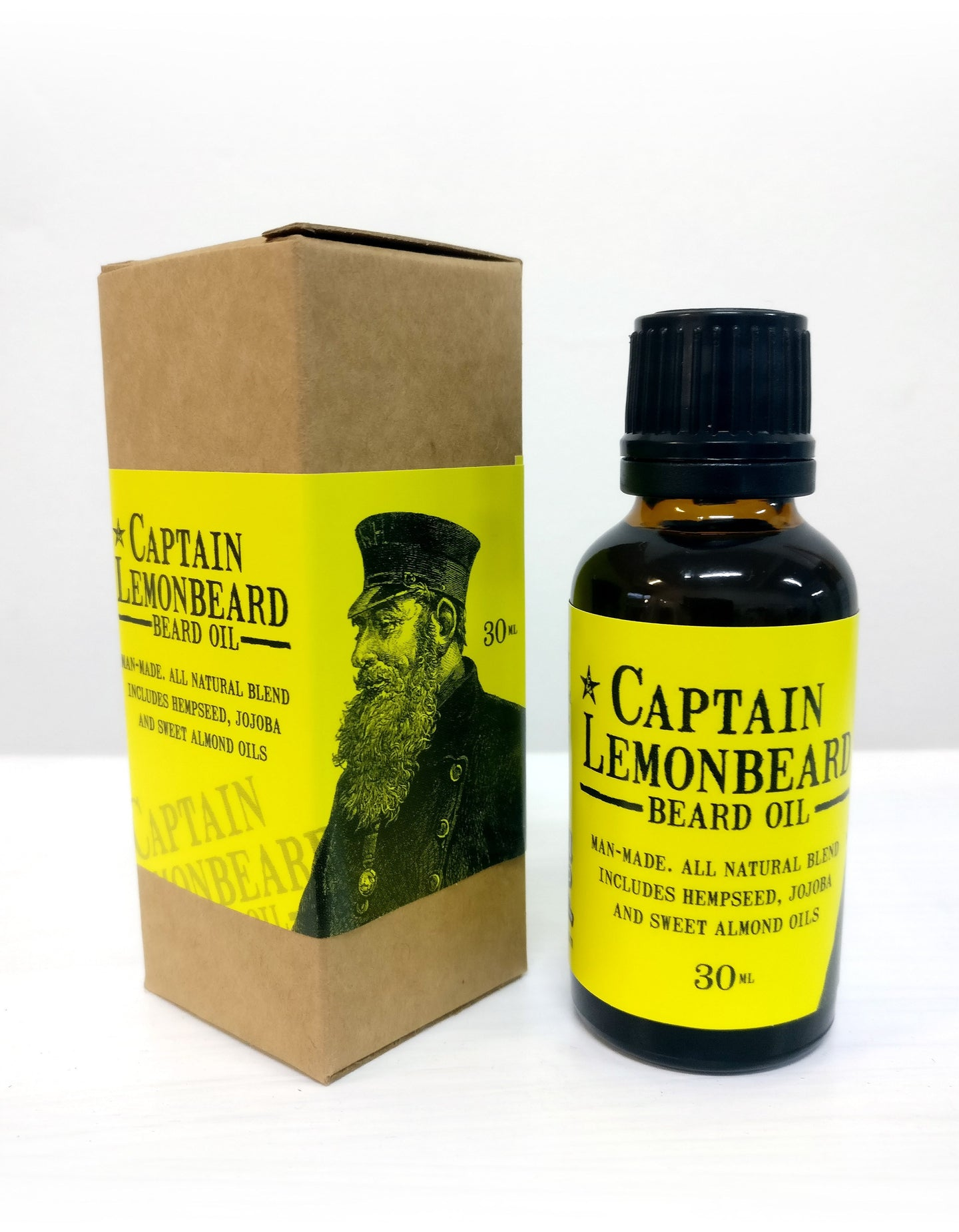 Captain Lemonbeard Beard Oil