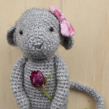 Load image into Gallery viewer, Crochet amigurumi mouse PDF pattern