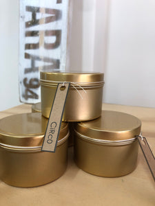 Small Tin Candles