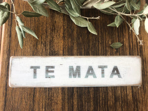 Recycled Signs - Te Mata