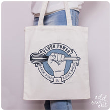 Load image into Gallery viewer, Flour Power Tote Bag