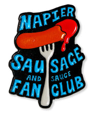 Load image into Gallery viewer, Sausage Club Enamel Pin