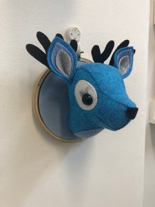Felt Taxidermy Mini Deer