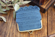 Load image into Gallery viewer, Crochet Coin Purse