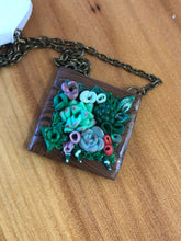 Load image into Gallery viewer, Succulent Garden Necklace