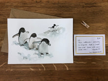 Load image into Gallery viewer, Penguin Watercolour Originals