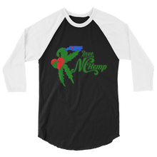 Load image into Gallery viewer, Love NC Hemp 3/4 sleeve raglan shirt