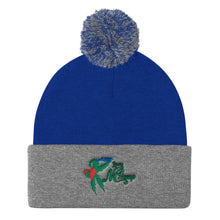 Load image into Gallery viewer, Love NC Hemp Pom Pom Knit Cap