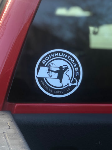 Bowhuntmass Window Decal