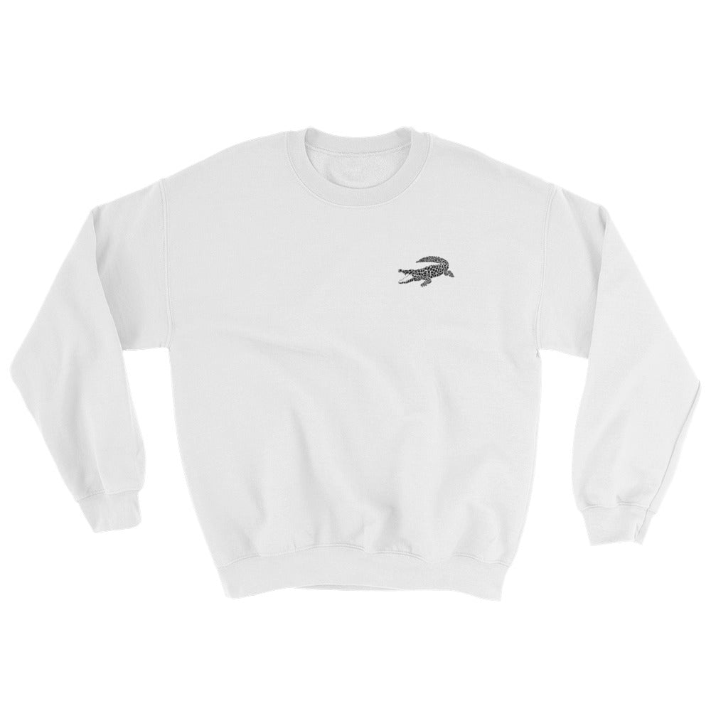 Sweatshirt blanc CROCODILE