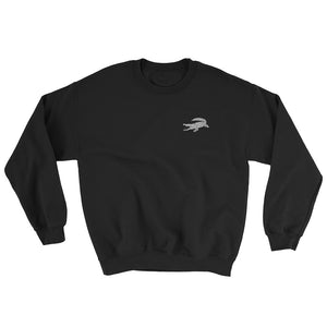Sweatshirt noir CROCODILE