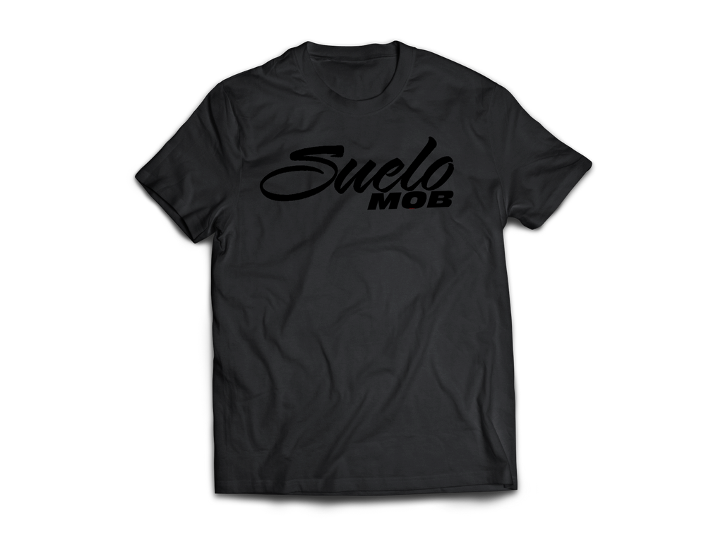 Black On Black SueloMob Tee (10x ENTRIES)