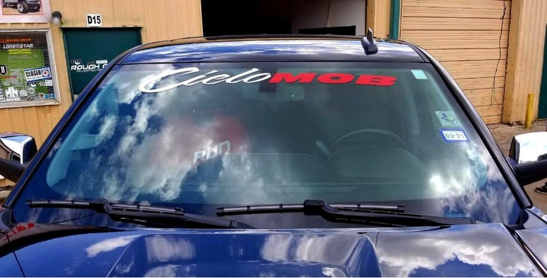 CieloMob Windshield Decal
