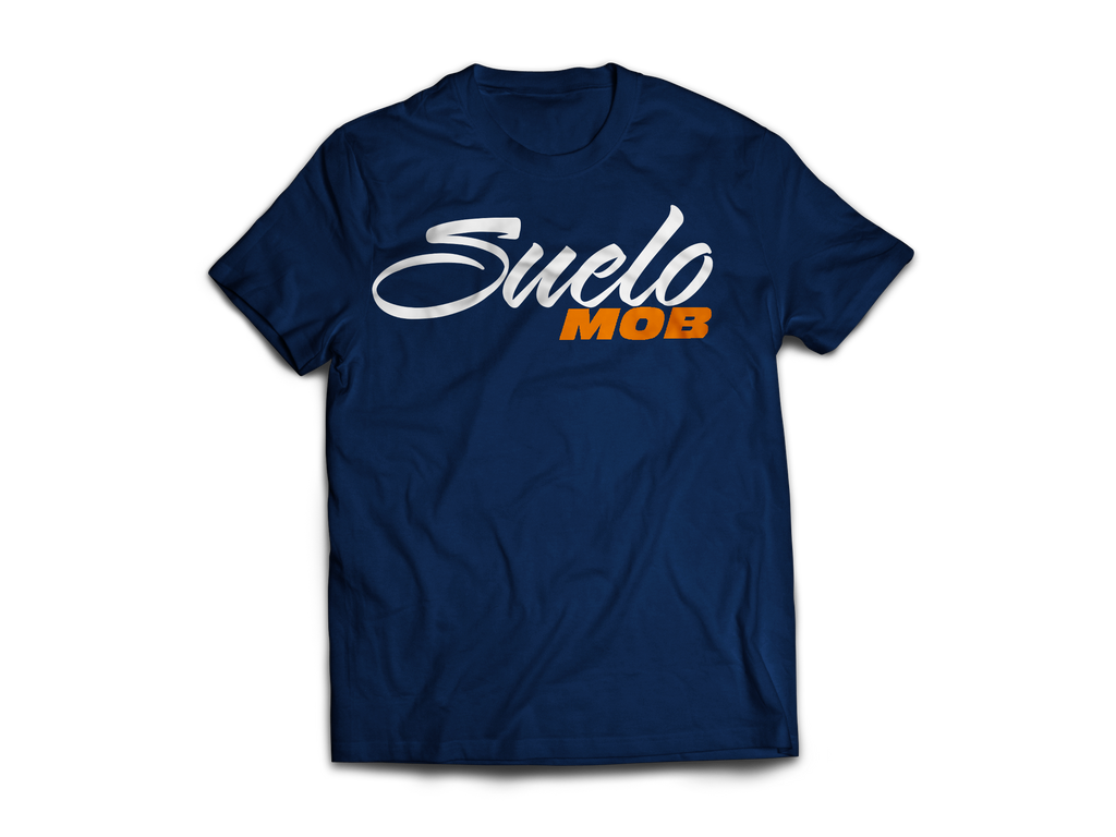 Navy Blue SueloMob Tee (Astros Themed)