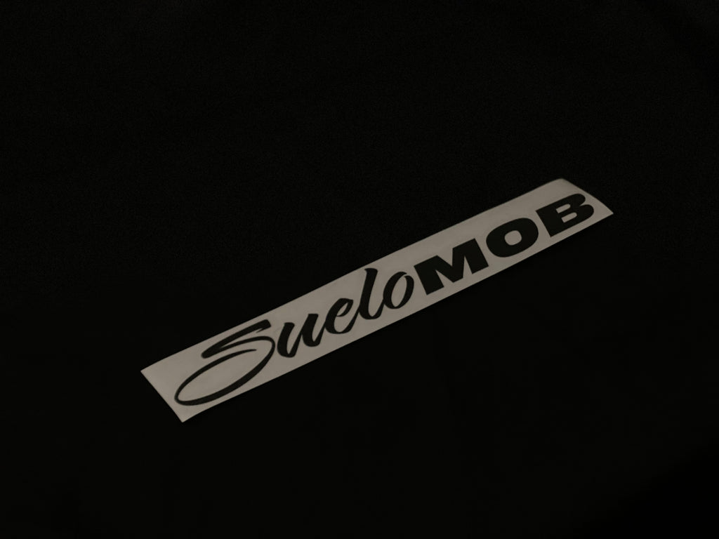 Black Reflective SueloMob Decal (5x ENTRIES)
