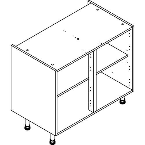1000 High/Drawer Line Base Cabinet. ClicBox