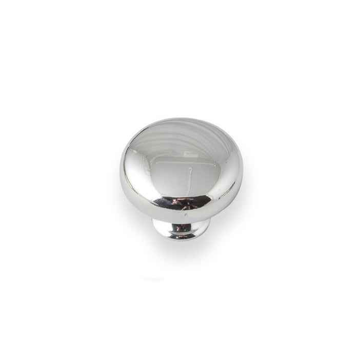 Button Knob Chrome