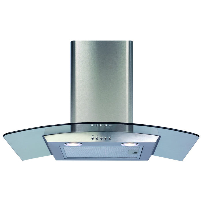 CDA ECP72SS Curved glass extractor