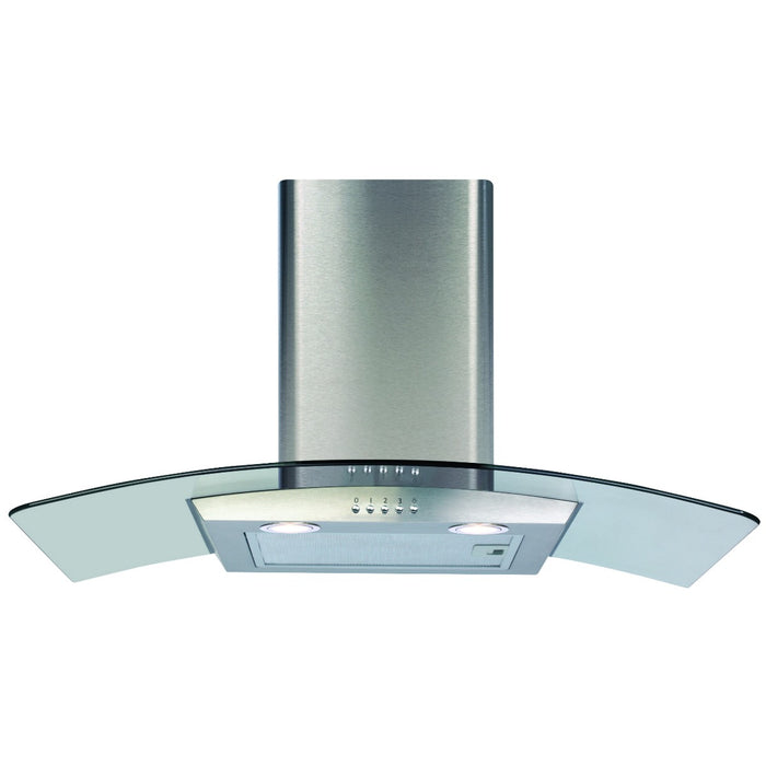 CDA ECP82SS Curved glass extractor