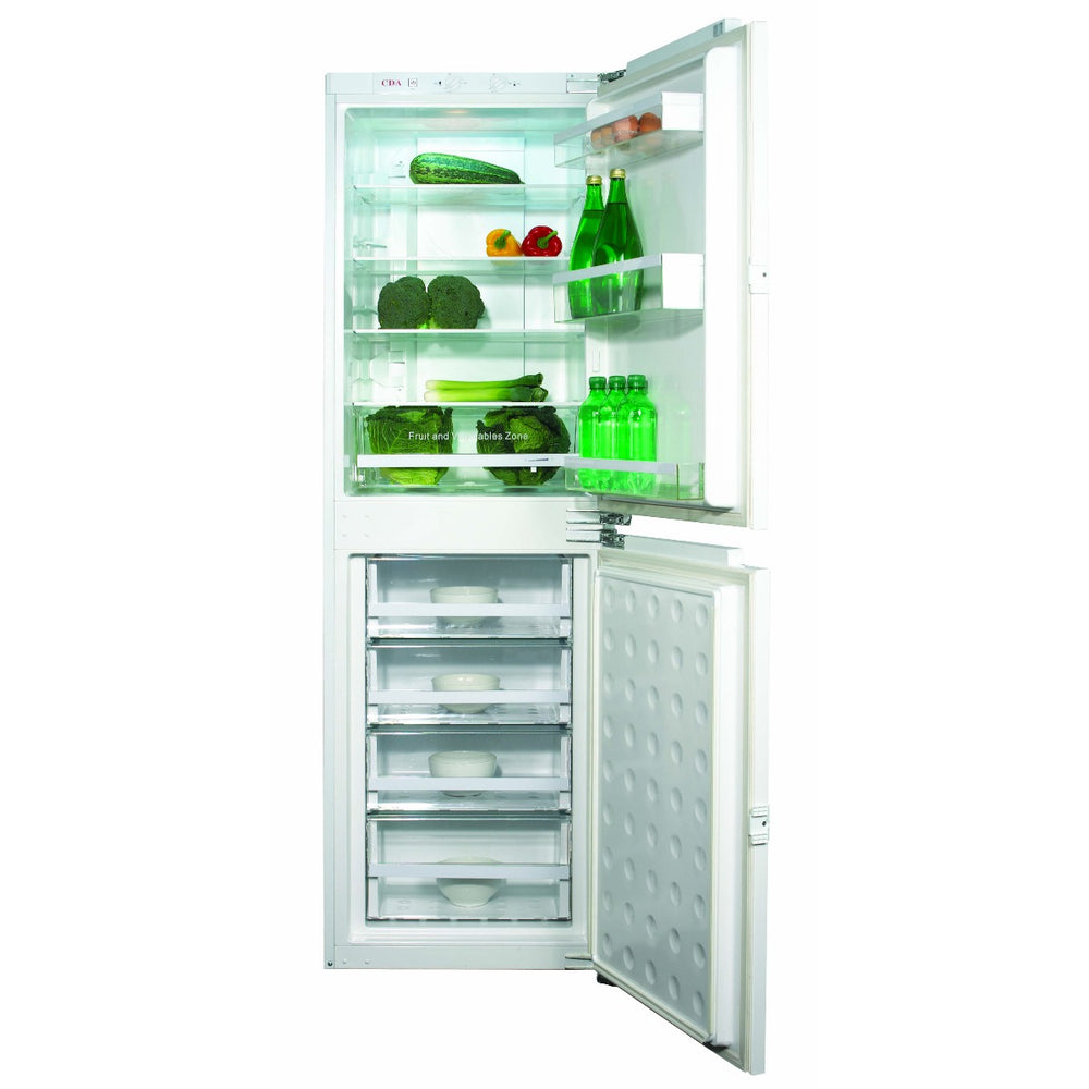 CDA FW951 Integrated 50/50 combination fridge freezer