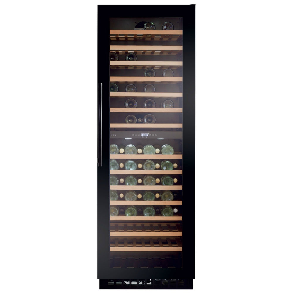 CDA FWC861BL Full height freestanding wine cooler