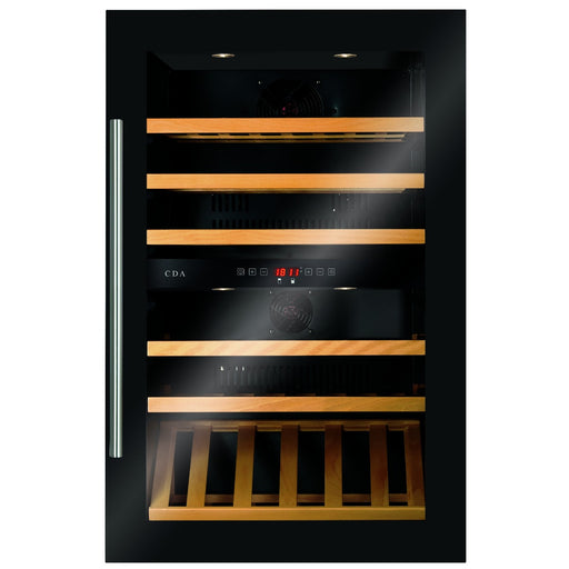 CDA FWV902BL Integrated wine cooler