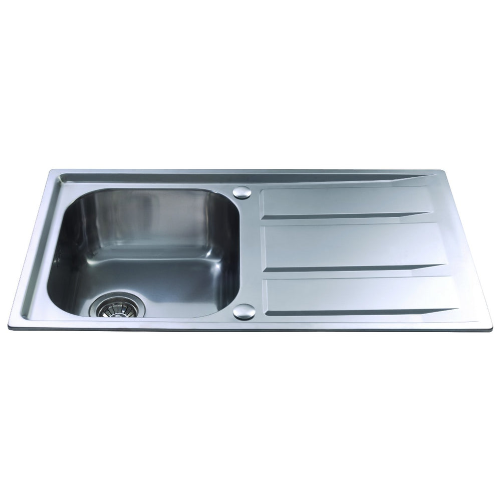 CDA KA80SS Stainless steel single bowl sink