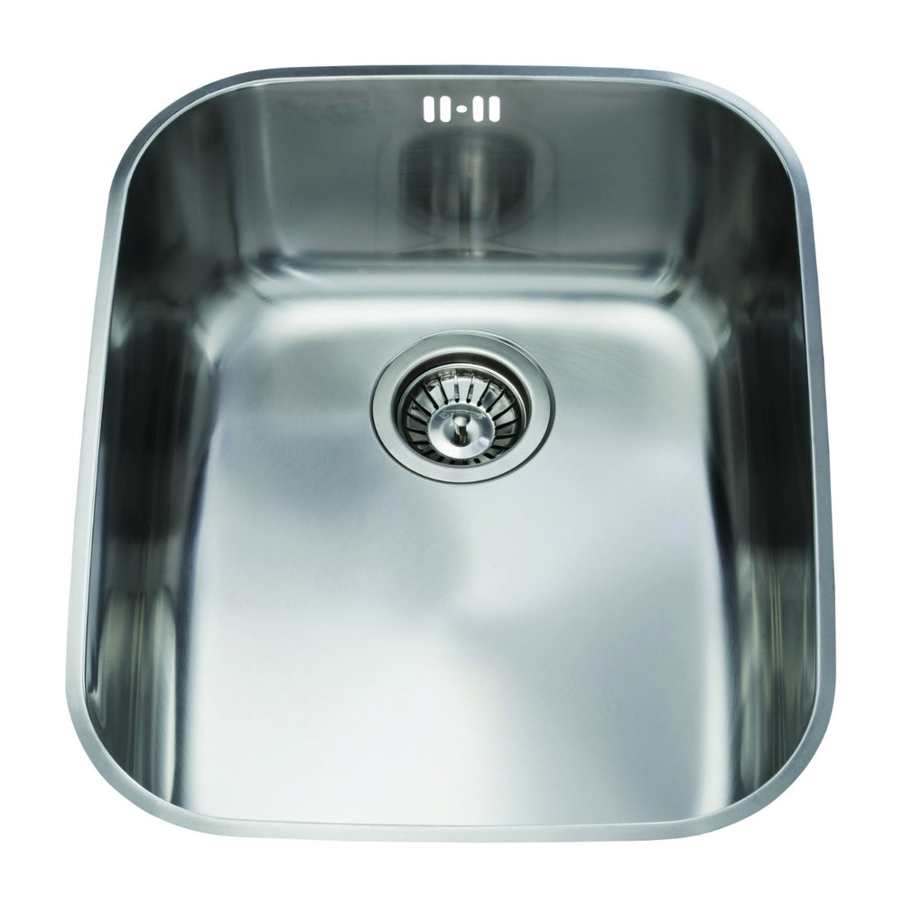 CDA KCC24SS Stainless steel undermount rectangular single bowl