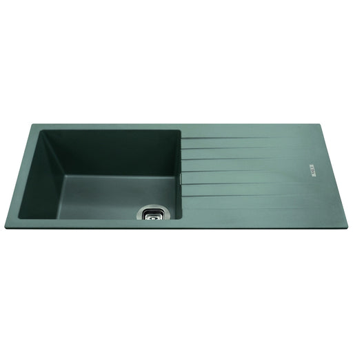 CDA KG73GR Composite single bowl sink (Grey)