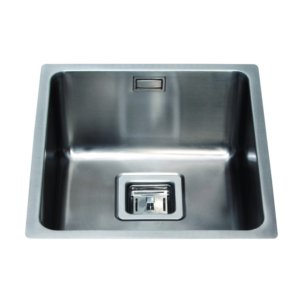 CDA KSC23SS Stainless steel undermount single bowl sink