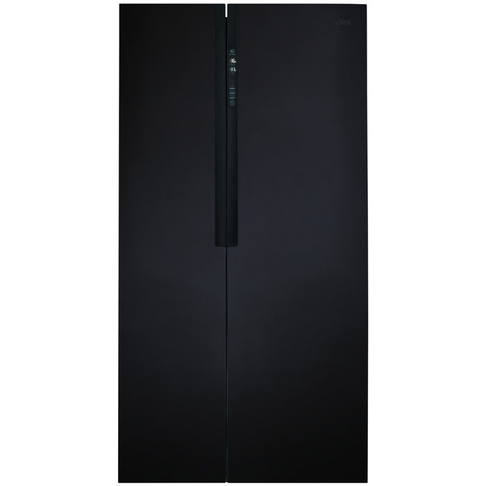 CDA PC52BL American style side-by-side fridge freezer