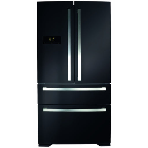 CDA PC870BL American style 2 door + 2 drawer fridge freezer