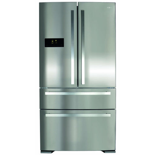 CDA PC870SS American style 2 door + 2 drawer fridge freezer