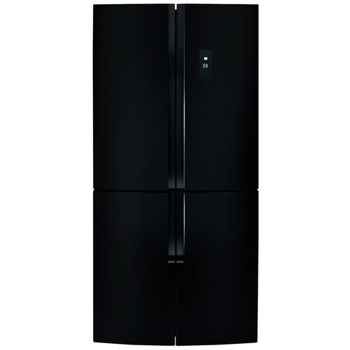 CDA PC880BL American style four door frost free fridge freezer