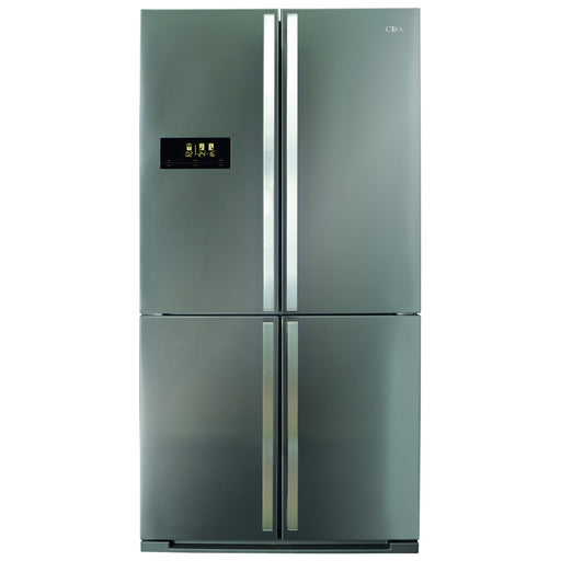 CDA PC900SS American style premium four door fridge freezer